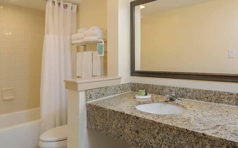 Standard Poolside Room Bathroom