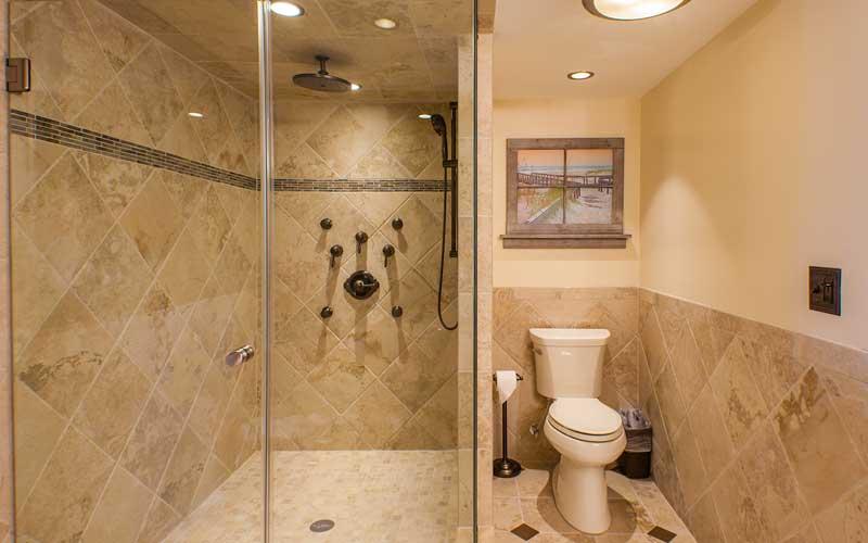 Sunrise Suite Bathroom Walk-In Shower