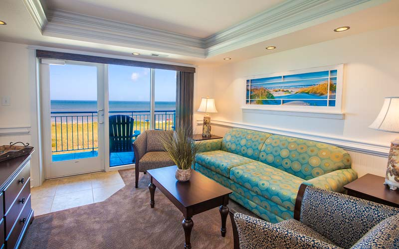 sunrise suite living room